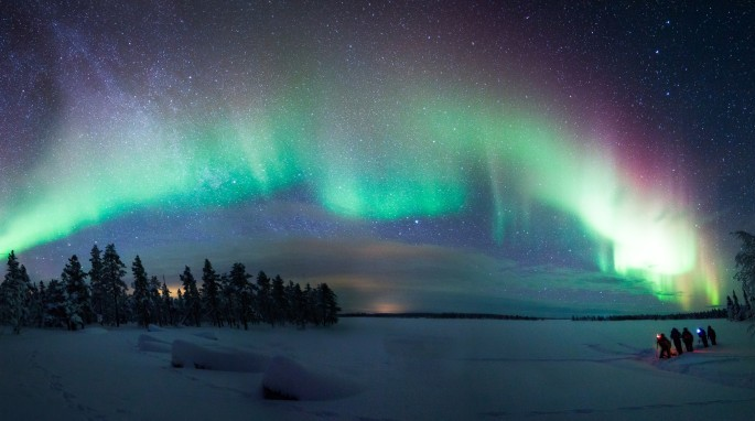 The author's all-time favorite image of the Aurora (Photo courtesy of Antti Pietikainen, www.theaurorazone.com)