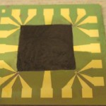 Cooling Computers: Graphene-based film on an electronic component with high heat intensity (Johan Liu / Chalmers University of Technology)