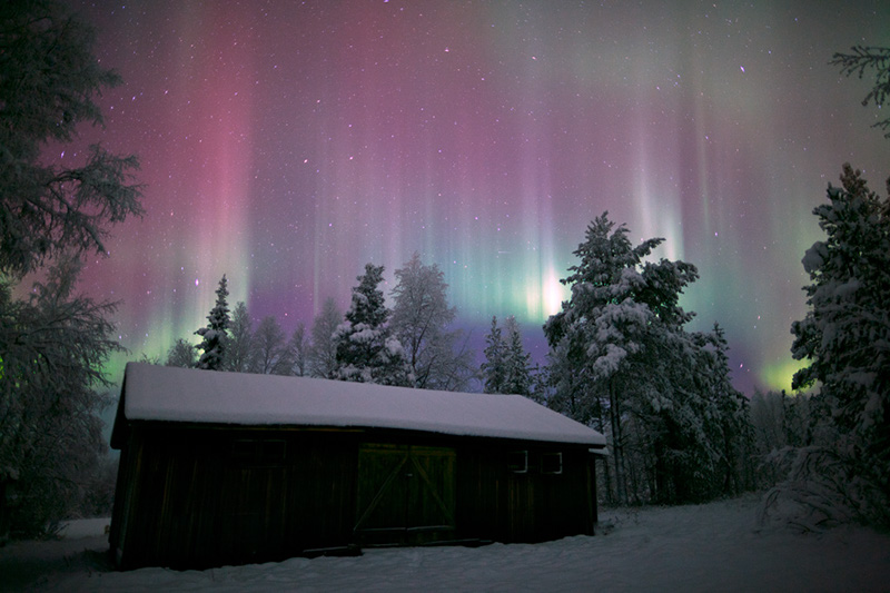 Aurora Borealis (Photo courtesy of Antti Pietikianen and www.theaurorazone.com)