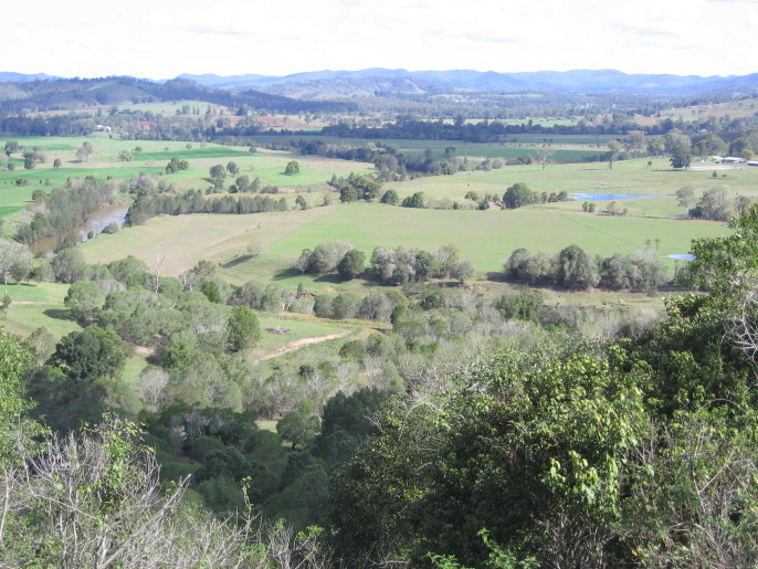 Site of proposed Traveston Crossing Dam. Photo credit: Patrick McCully