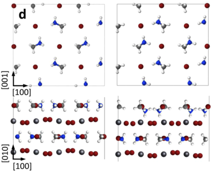 Image of perovskite surface model courtesy of Ohmann et al