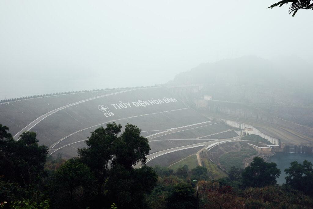 Hoa Binh hydropower plant